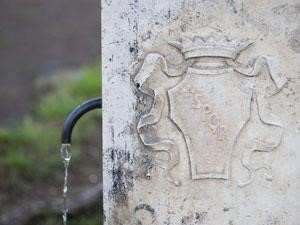 Plumber In Austin Water Coming Out Of Ancient Fountain